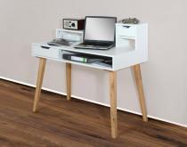 1194 - Schreibtisch Sekretär in verschiedenen Farben, mit massiven Füßen