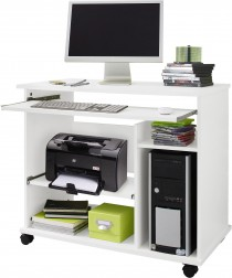 Computertisch  Schreibtisch  PC-Tisch auf Rollen