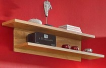 Wandboard Regal Bücherregal Ablage wildeiche teilmassiv, geölt