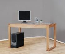 massiver Schreibtisch Computertisch Esstisch in Kernbuche, geölt