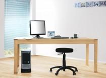 4600 - massiver Schreibtisch Computertisch Esstisch 180x80cm, in Wildeiche massiv