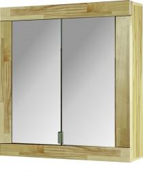 Spiegelschrank kernbuche teilmassiv