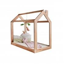 Kuschelbett, Spielbett, 70x140 cm, kernbuche massiv Holz