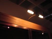 Aufsatzleuchte mit 2 Leuchtkörper