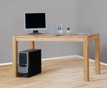 massiver massiver Schreibtisch Computertisch Esstisch in Kernbuche, geölt