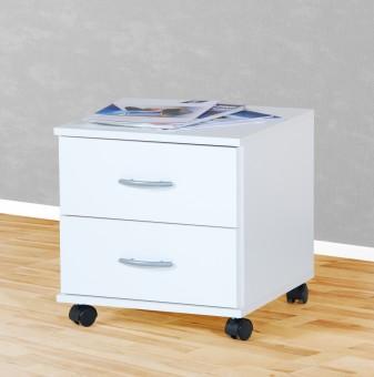 Rollcontainer in mehreren Farben weiß