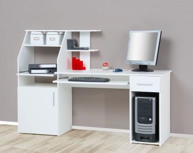 Computertisch / Schreibtisch / PC-Tisch weiß