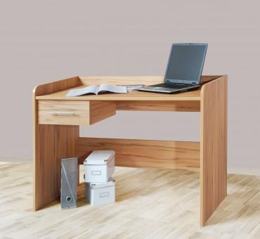 Schreibtisch Computertisch, höhenverstellbar, 116cm