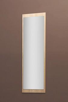 Spiegel Garderobenspiegel Wandspiegel mit Rückwand sonoma Eiche sägerau