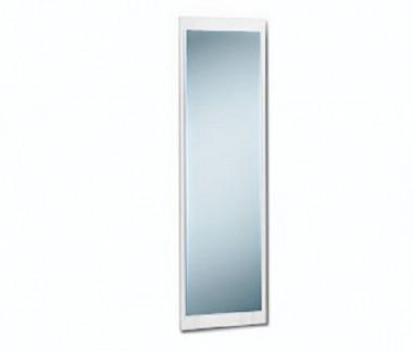 Spiegel Garderobenspiegel Wandspiegel mit Rückwand weiß