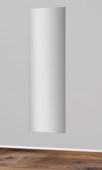 Spiegel 171x51cm / Rückwand buche - Kante silber