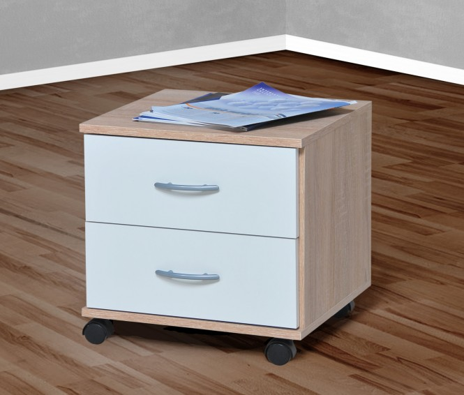 rollcontainer in mehreren farben sonoma eiche s gerau. Black Bedroom Furniture Sets. Home Design Ideas