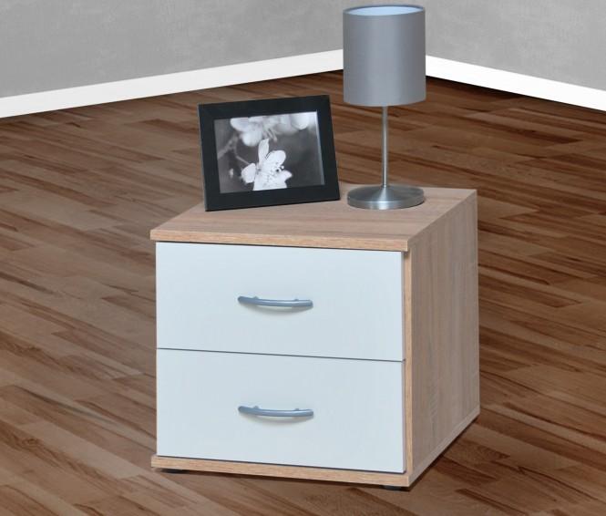container beistelltisch in mehreren farben sonoma eiche s gerau wei m bel. Black Bedroom Furniture Sets. Home Design Ideas