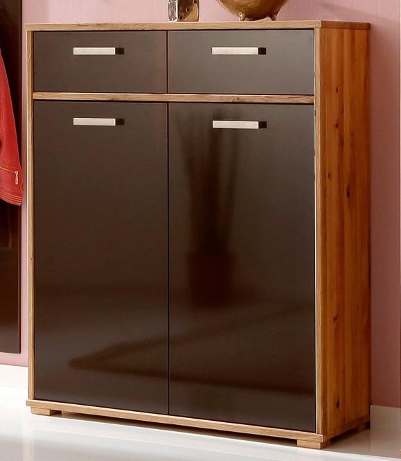 mara kommode 100x104cm wildeiche massiv fronten schoko m bel. Black Bedroom Furniture Sets. Home Design Ideas