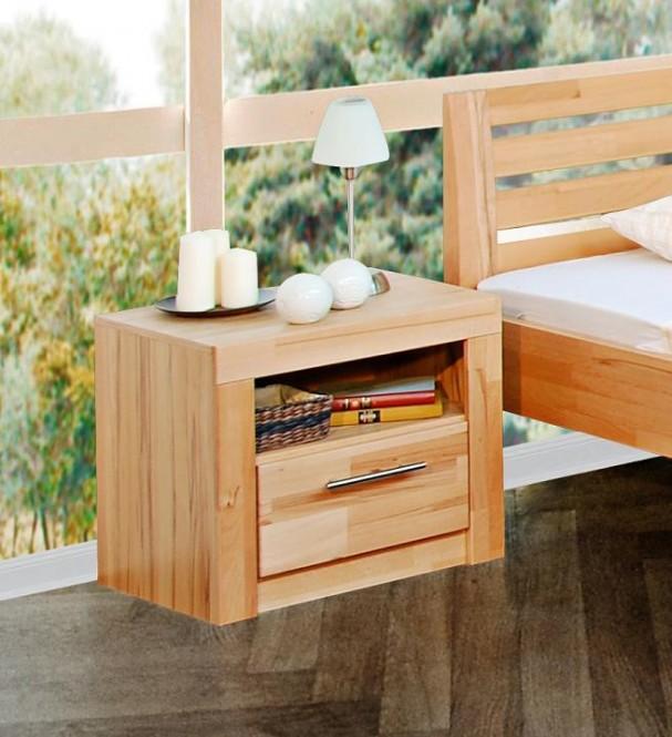 nachtk stchen 2042 nachttisch kommode schrank kernbuche teil massiv eur 89 95 picclick de. Black Bedroom Furniture Sets. Home Design Ideas