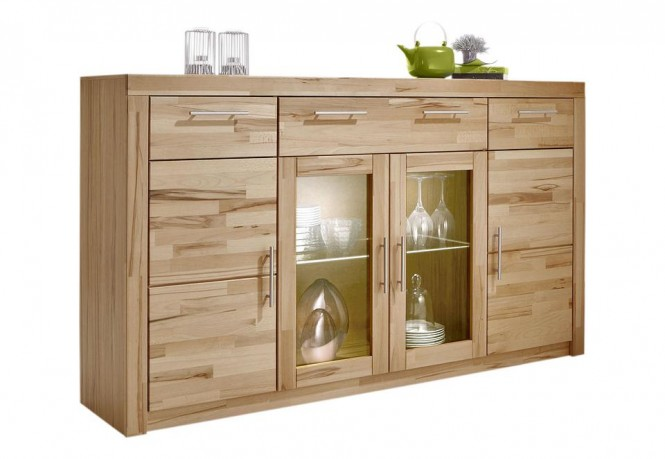 highboard in kernbuche teilmassiv ge lt m bel. Black Bedroom Furniture Sets. Home Design Ideas