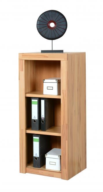 aktenregal b cherregal 52x120cm in kernbuche teilmassiv m bel. Black Bedroom Furniture Sets. Home Design Ideas