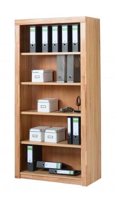 7150 aktenregal b cherregal 90x190cm in kernbuche teilmassiv m bel. Black Bedroom Furniture Sets. Home Design Ideas