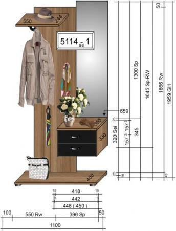 Garderobe Spiegelschrank Mobel Sofortkauf De