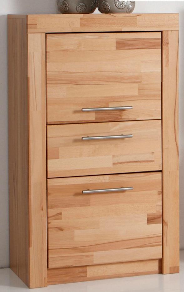 3442 9 schrank t renteil in kernbuche teilmassiv ge lt ebay. Black Bedroom Furniture Sets. Home Design Ideas